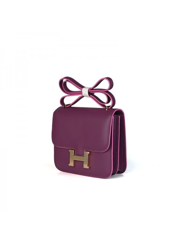 19/23CCDD 兰博基尼潘多拉空姐包野莓紫色H金扣