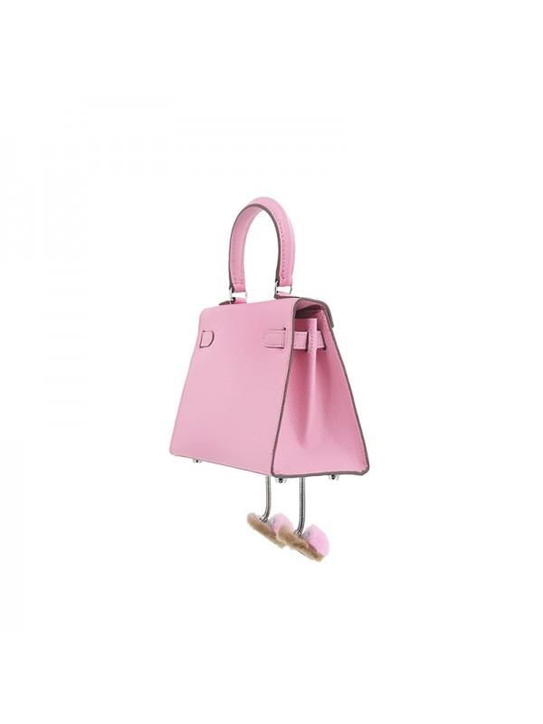 20CCKK 手掌纹Alvina樱花粉色银扣
