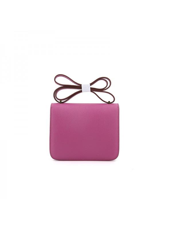 19/23CCDD 手掌纹潘多拉空姐包野莓紫色H金扣W