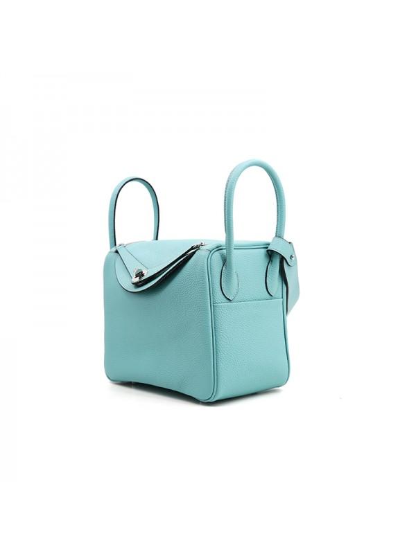 26CCLD 荔枝纹经典款Tiffany蓝色银扣