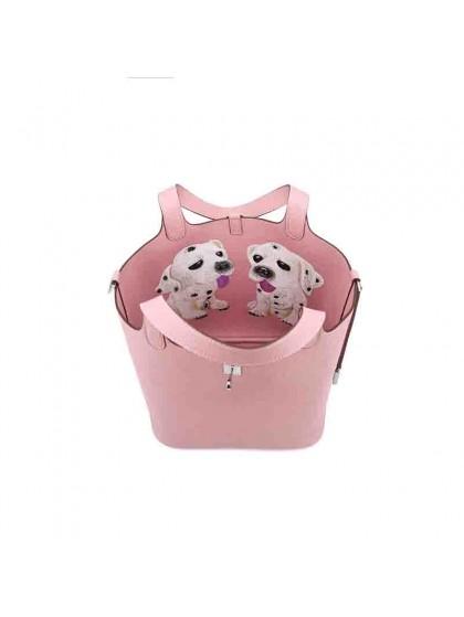 22CCCL 荔枝纹原版皮妈咪包涂鸦BABY粉色银扣