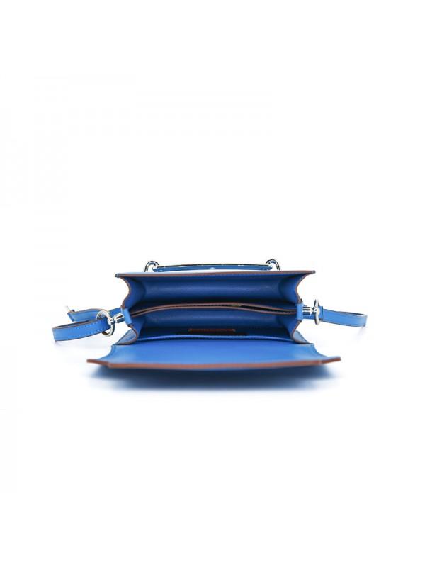 19CCHH 小荔纹HEART经典款希腊蓝色银扣