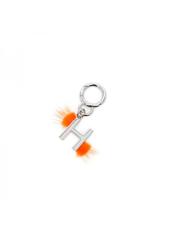 挂件H银光橙色
